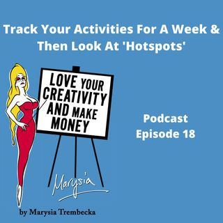 18. Track all your activities for a week and see where your hotspots are.