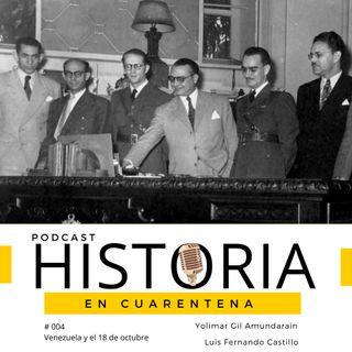 Venezuela y el 18 de octubre de 1945