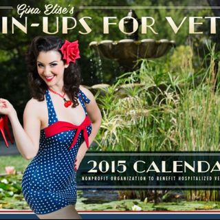 A chat with Gina Elise Pinup for Vets