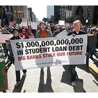Occupy Wall Street has been buying Consumer Student Loans and paying them off