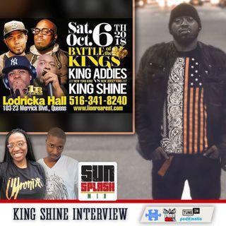 Jimmy Spliff Interview 2018 King Shine vs King Addies