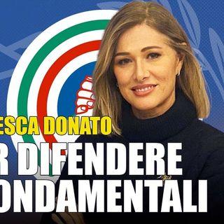 """Francesca Donato: """"Mario Draghi rappresenta solo i poteri sovranazionali che lo hanno imposto"""""""