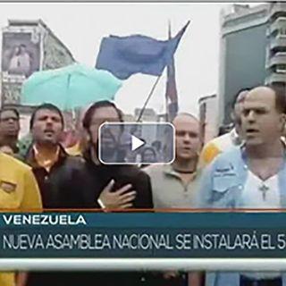 Venezuela: Nueva asamblea nacional se instalará el 5 de enero