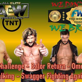 WALTER Challenge - Omega Trash Talking - Balor Return