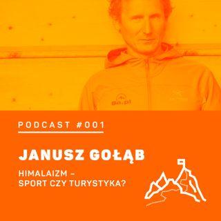 #001 8a.pl - Janusz Gołąb. Czy himalaizm jest sportem czy turystyką?