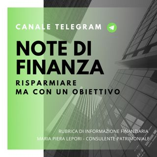 Note di Finanza | Rispamiare con un obiettivo