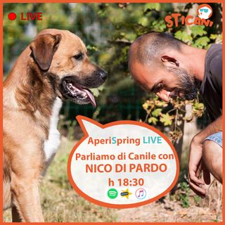 #09 Intervista a NICO DI PARDO - Parliamo di CANILE  AperiSpring LIVE