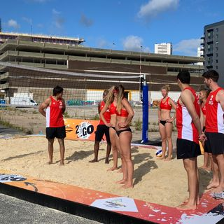 #109 Beach Ready? England's best Volleyballers already gearing up for Birmingham 2022