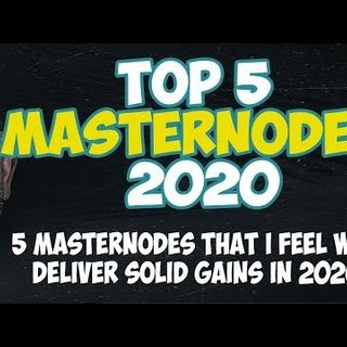 Top 5 Masternodes For 2020 - Investing In Masternodes - How To Find Good Masternodes