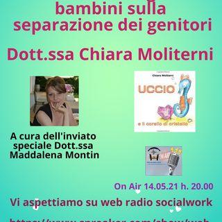 Chiara Moliterni. Cercare un dialogo con i bambini sulla separazione dei genitori.