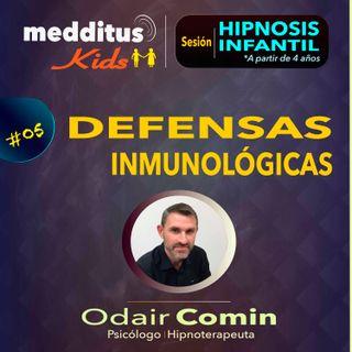 #05 Hipnosis Infantil para Desarrollar Defensas Inmunológicas | Dr. Odair Comin