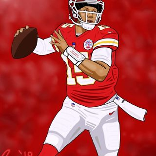 Mahomes Goes Viral, My New Nick Name For Mahomes, Air It Out Mahomes