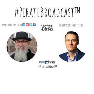 Catch Victor Huiting on the #PirateBroadcast™