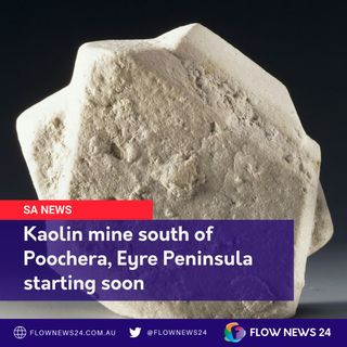 New Porcelain mine opening near Poochera on SA's Eyre Peninsula