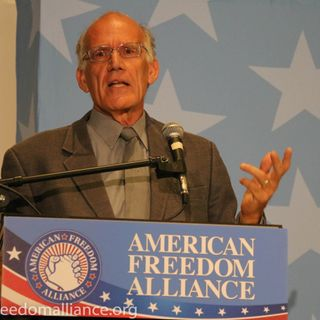 """Victor Davis Hanson keynotes AFA's """"From Gold to Dust"""" Conference"""