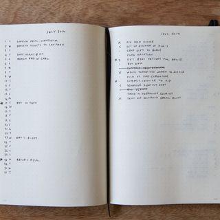 Le Bullet Journal - épisode 7 des carnets d'un inlassable curieux