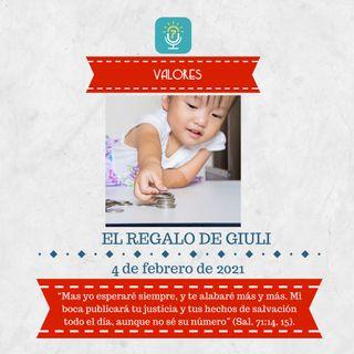 4 de febrero - El regalo de Giuli - Etiquetas Para Reflexionar - Devocional de Jóvenes