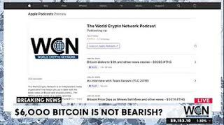 Bitcoin to $6K isn't Bearish and other news stories - $9075 #THS