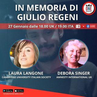 SPECIALE Giulio Regeni