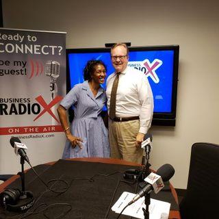 Telisha Jackson with Small Business Development Center and Jeff Patterson with Small Business Administration