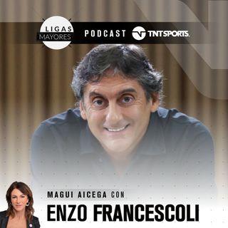 Ligas Mayores - Enzo Francescoli, mano a mano con Magui Aicega