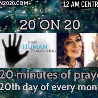 Episode 317 - 20 on 20 pre prayer show with Jacklyn Conrad