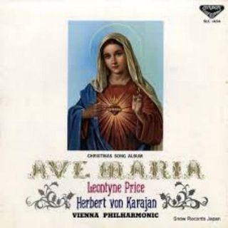 Herbert v Karajan - Ave Maria (Leontyne Price)