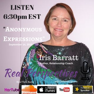 Iris Barratt's Anonymous Expressions
