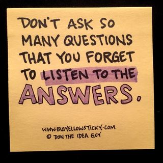 Listen To The Answers : BYS 106