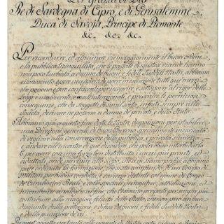 Ep.1 La fondazione del corpo dei Carabinieri Reali