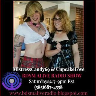 MistressCandy69 & CupcakeLove BDSM ALIVE RADIO SHOW 11/24/18 Metal & Fetish Talks