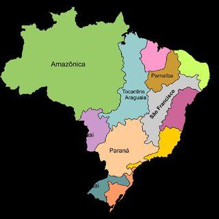 PodGeo - Bacias Hidrográficas Brasileiras