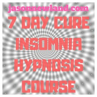 7 day Cure Insomnia Hypnosis Course