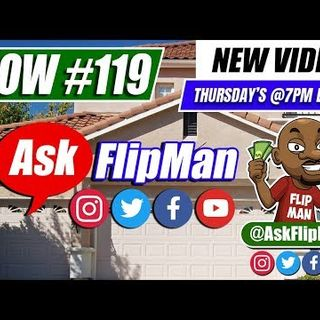 How to Wholesale Real Estate With No Money - Ask Flip Man You Live Show 119 [Flippinar]