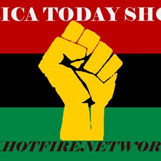 AFRICA TODAY SHOW ON BLACK HOT FIRE- RIOTS IN MINNESOTA OVER GEORGE FLOYD MURDER BY COP