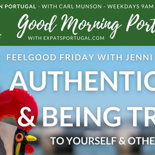 Feelgood Friday on the GMP! - Finding Authenticity & Being True with Jenni B