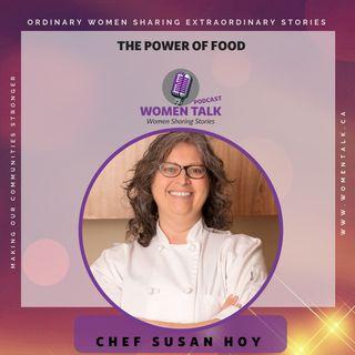 Women Talk with Chef Susan Hoy