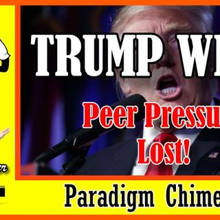 Trump Wins, Peer Pressure Lost | Paradigm Chimes  #paradigmshift #trump