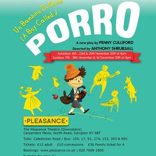 """Mind the Gap - """"Un bambino di nome Porro"""", spettacolo teatrale by Tricolore Theatre"""