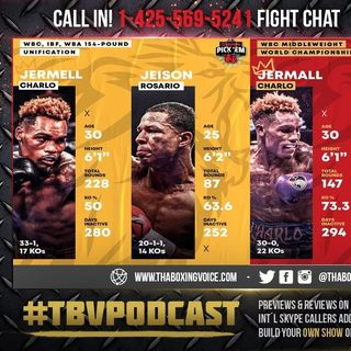 ☎️Charlo vs Rosario🔥Charlo vs Derevyanchenko🔥Pay-Per-View Doubleheader: Preview, Analysis and Live