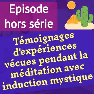 (hors série) 24 témoignages d'expériences remarquables vécues pendant la médiation avec induction mystique (MIM)