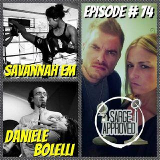 Episode #74 Daniele Bolelli & Savannah Em