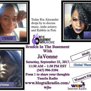 Ria Alexander Visits Brunch in the Basement With JaVonne and Terez
