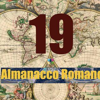 Almanacco romano - 19 marzo