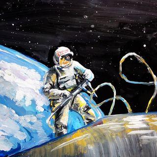 ¡Este hombre fue el primero en realizar una caminata espacial!