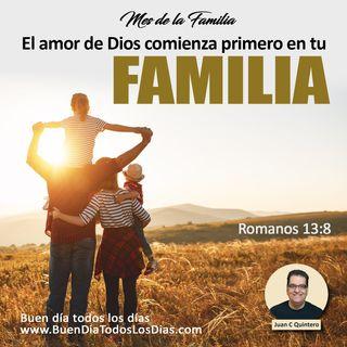 Amor de Dios, amor de familia