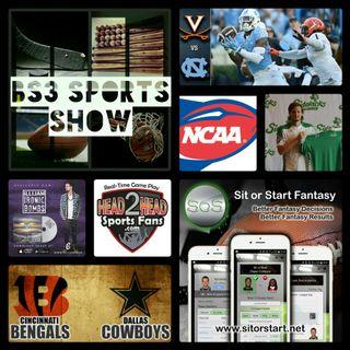 BS3 Sports Show 10.8.16 (Sponsors @H2HSportsFans @SitOrStartApp)