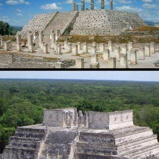 Desmoronamiento De Topiltzin Quetzalcoatl Y Destrucción De Tula (Saga 3/5)