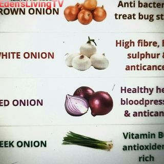 Onions * 4 Types And HEALTH BENEFITS