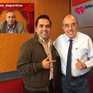Rudo Rivera, Pepe Segarra y Alex Cervantes en Espacio Deportivo de la Tarde 06 de Junio 2019